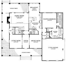 House Plan at FamilyHomePlans comCountry Farmhouse Southern House Plan Level One