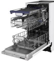 Узкая <b>встраиваемая посудомоечная машина Midea</b> M45BD-1006 ...