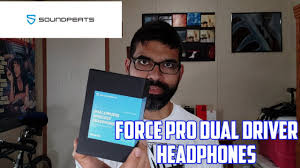 <b>SoundPeats Force Pro Dual</b> Driver BT Headphones - Unboxing/First ...