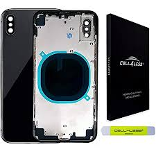 for iPhone Xs 5.8 Back Rear Chassis Mid Frame <b>Housing Battery</b> ...