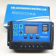 10 Amp 10A PWM Smart Battery Charge Controller <b>12V</b>/<b>24V Solar</b> ...