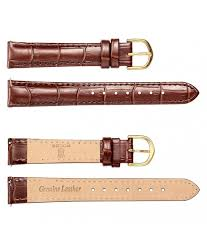 <b>Genuine Leather</b> Calfskin Watch <b>Band</b> Replacement