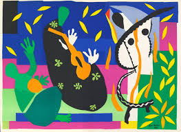 london henri matisse the cut outs at the tate modern through henri matisse sorrow of the king 1952 via the tate