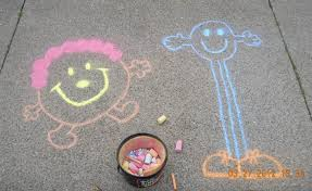 Image result for sidewalk chalk art