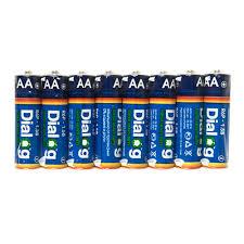 Солевые <b>батарейки АА Dialog</b> R6P-8S