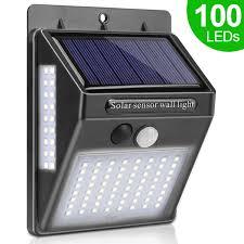 <b>100 LED Solar</b> Power Lamp PIR Motion Sensor 1 2 <b>4pcs</b> Solar ...