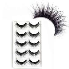 <b>2019 New</b> Good Quality Eyebeauty 5 Pairs Messy <b>Natural</b> Cross ...
