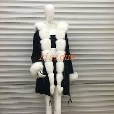 <b>lisidun 2018</b> fur coat parkas winter jacket coat women parka big <b>real</b> ...