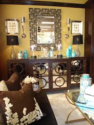 sideboards and buffets living room contemporary with brown buffet chocolate circles cadenza furniture