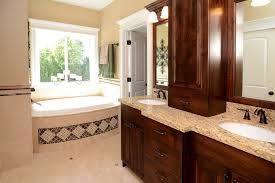 oak brown bathroom furniture
