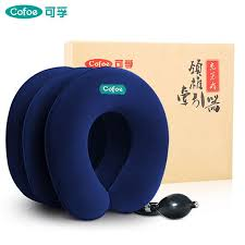 <b>Cofoe Inflatable Neck Stretcher</b> Cervical Traction Collar Soft ...