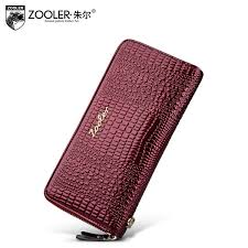 <b>ZOOLER</b> Genuine Leather Purse European And American Style ...