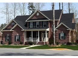 Two Story Home Plans    Story Country Traditional House Plan    Country House Plan Photo  H