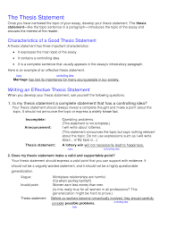 resume examples examples of a thesis statement for a narrative resume examples what is a thesis statement in an essay examples examples of a thesis statement