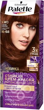 Купить <b>Крем</b>-<b>краска</b> для волос Palette LW3 Горячий шоколад с ...