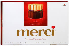 Заказать Подарки   <b>Конфеты Merci ассорти</b> (250гр) с бесплатной ...