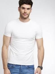 Basic men's round neck T-Shirt - REPEAT cashmere