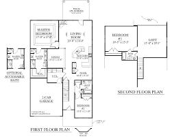 Bedroom Bathroom Garage House Plans   Bathroom Design IdeasSouthern Herie Home Designs House Plan b The Englewood B For Master Bedroom Plans Story
