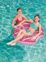 <b>Надувной</b> плавательный <b>круг Пончик Bestway</b> 8113011 в ...