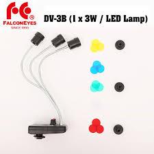 <b>Falcon Eyes</b> DV 3B Triple 3 LED Magic Background Light Color LED ...