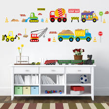 <b>Cartoon</b> Vehicle Traffic Cars <b>Buses</b> Wall Stickers for Kids <b>Room</b> ...
