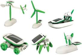 EMOB Educational <b>6 In 1 Solar</b> Power Energy Robot Toy Kit Price in ...