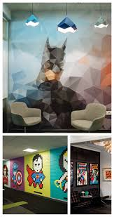 superhero office decoration art force office decoration