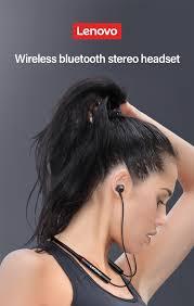 <b>Lenovo HE05X</b> Earphone Bluetooth5.0 <b>wireless</b> headset <b>magnetic</b> ...