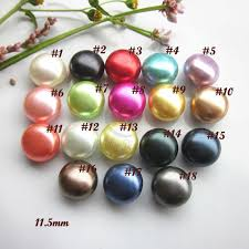 Bulk buttons <b>60pcs</b> mixed <b>color</b> / 1 <b>color</b> pearl buttons for sewing ...