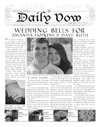 enewspapers and print newspapers for everyone makemynewspaper wedding invite
