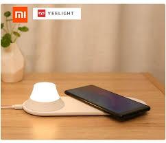Xiaomi Yeelight Wireless Charger with <b>LED</b> in 2020 | <b>Led</b> night light ...