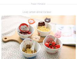 400ml Cartoon Kids <b>Ceramic</b> Small Ramen <b>Bowl Creative</b> Cute ...