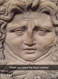 When you open the front facing camera - Funny snapchats | Funny ... via Relatably.com