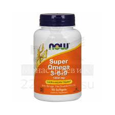 Купить <b>Супер Омега 3-6-9</b> Нау (Now) 1200мг капсула 1600 мг ...
