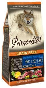 Купить <b>Сухой корм</b> для собак <b>Primordial</b> Adult, беззерновой ...