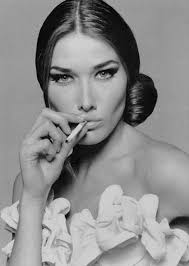 Carla Bruni Smoking. Is this Carla Bruni the Actor? Share your thoughts on this image? - carla-bruni-smoking-1933814265