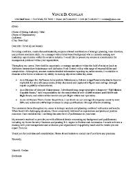 aviation cover letter example military cover letters