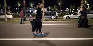 Saudi <b>Women</b> Are Breaking Free From the <b>Black</b> Abaya - WSJ