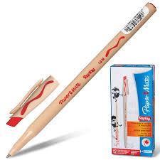 "<b>Ручка</b> стираемая шариковая <b>PAPER MATE</b> ""<b>Replay</b>"", КРАСНАЯ ..."