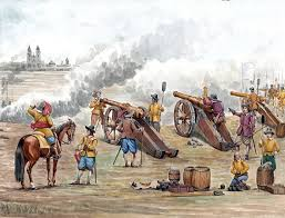 best images about j auml hriger krieg civil wars german artillery bombarding a town thirty years war
