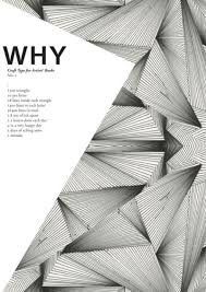 Graphics, Cover pages and Shape on Pinterest Great use incorporating shapes from the background into the design. Graphic minimalist cover page.