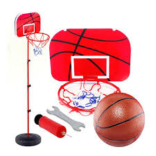 1.5M <b>Adjustable Height</b> Basketball Hoop Toy Children Basketball ...