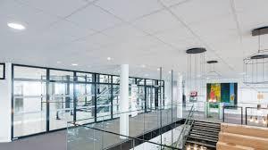 Универсальная подвесная потолочная система Rockfon® System ...