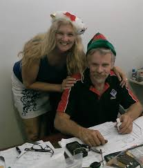 about us all perth plumbing and gas peter and sandra ellis pete and sandra in office xmas 2014 2