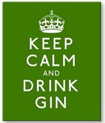 Gin Quote Print, Gin is Liquid Sanity, Gin Poster, Gin & Tonic ...