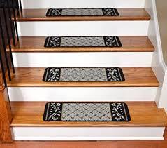 <b>15</b>-Pack Runners for Wooden Steps <b>Carpet Stair Treads</b> Non-Slip ...
