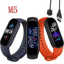 <b>M5 Smart</b> Bluetooth Sport Men <b>Watch</b> Fitness Tracker <b>Heart</b> Rate ...