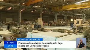 Zona industrial de Oliveira de Frades renasce das cinzas