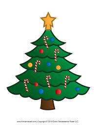 printable paper christmas tree template and clip art christmas tree clip art