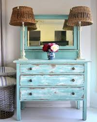 distressed painted furniture ideas for a coastal beach look beach house style furniture